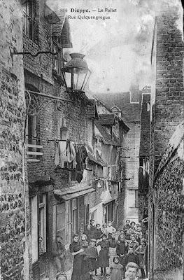 Rue Quiquegrogne à Dieppe